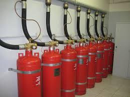 Особенности систем газового пожаротушения